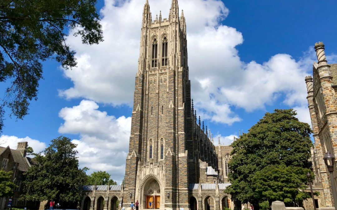 A Brief History of Duke University in Durham, NC